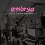 "Embryo ""Live At Burg Herzberg Festival 2007"" CD"