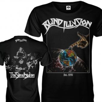 "Blind Illusion ""The Sane Asylum"" T-Shirt LARGE"