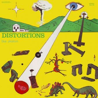 "Blue Phantom ""Distortions"" LP"