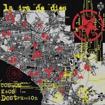 """La Ira De Dios """"Cosmos, Kaos, Destruccion"""" LP"""