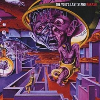 """The Voids Last Stand """"Rakash"""" CD"""
