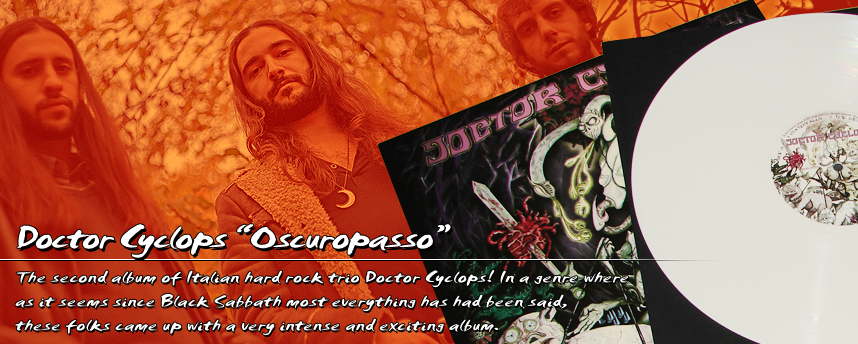 "Doctor Cyclops ""Oscuropasso"" Col-LP"